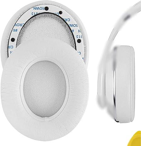 Geekria QuickFit Almohadillas de Cuero con proteína para Dr. Dre Studio 2.0 (2da generación) Reemplazo de Almohadillas para Auriculares/Almohadillas ...