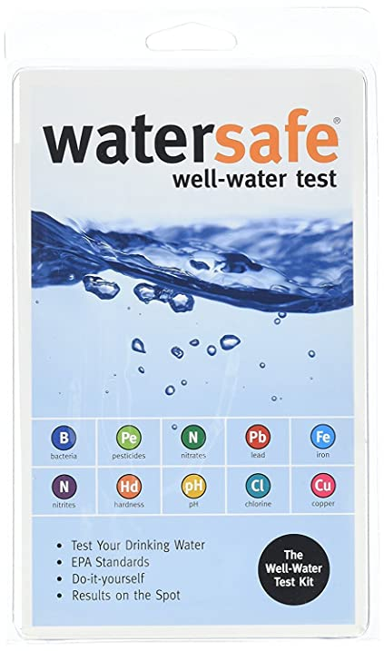 Amazon watersafe ws425w well water test kit 4 ct home kitchen watersafe ws425w well water test kit 4 ct solutioingenieria Image collections
