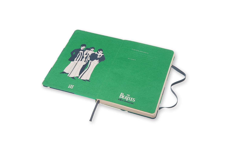 Moleskine The Beatles Pez - Libreta grande, color blanco: Vv ...