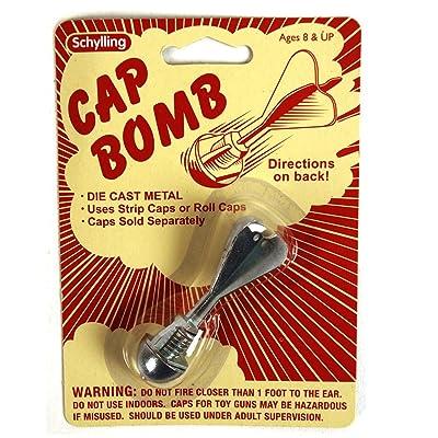 Schylling Cap Bomb CAB: Toys & Games