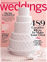 Amazon discount magazines bridal weddings magazine martha stewart weddings junglespirit Choice Image