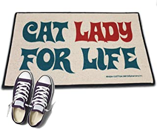 product image for HIGH COTTON Welcome Doormat - Cat Lady for Life