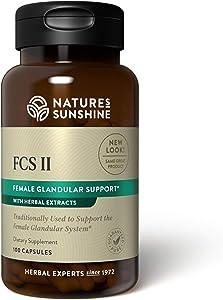 Nature's Sunshine FCS II with Lobelia 100 Capsules