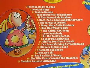 Best of Sing-a-long Cd, 21 Songs