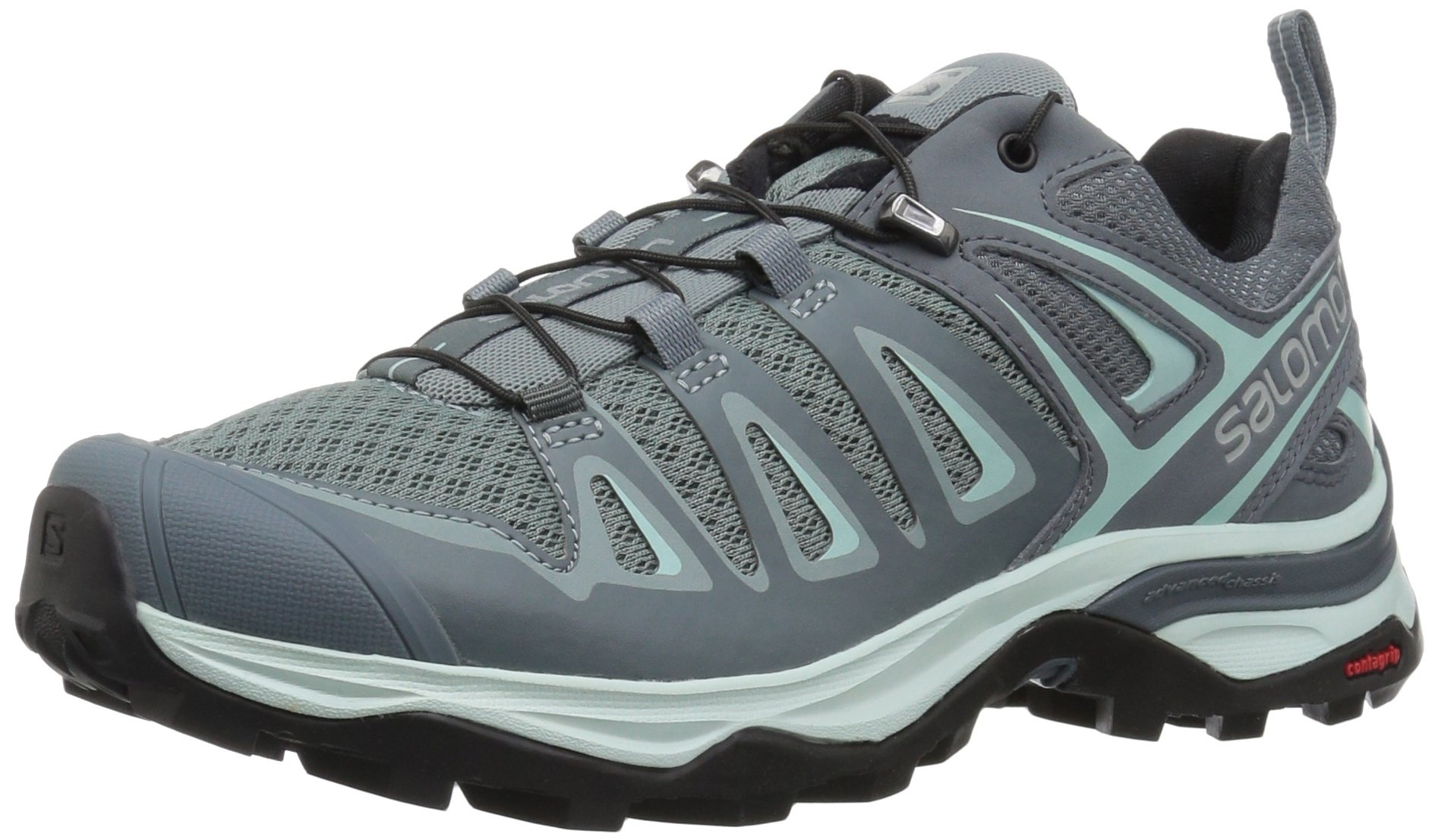 SALOMON Women's X Ultra 3 W Trail Running Shoe, Lead, 5.5 M US by SALOMON
