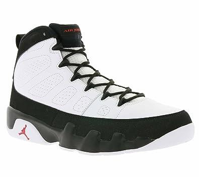 sports shoes 024ae 632dc Nike Air Jordan 9 Retro Schuhe Herren Basketball-Sneaker Turnschuhe Weiß  302370 112
