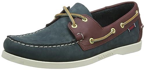 Hombre Crest Dockside Boat Shoe, Marr¨®n, 7 M US