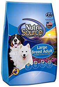 Tuffy's Pet Food Nutrisource Large Breed Dog Chicken/Rice Food, 30 lbs