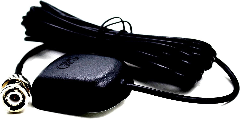 DHT Electronics External GPS Antenna with BNC Male for Garmin StreetPilot III GPS V III Sounder GPSMap 178C 188 276C 298c 398c 498c iCOM 270ML 370ML