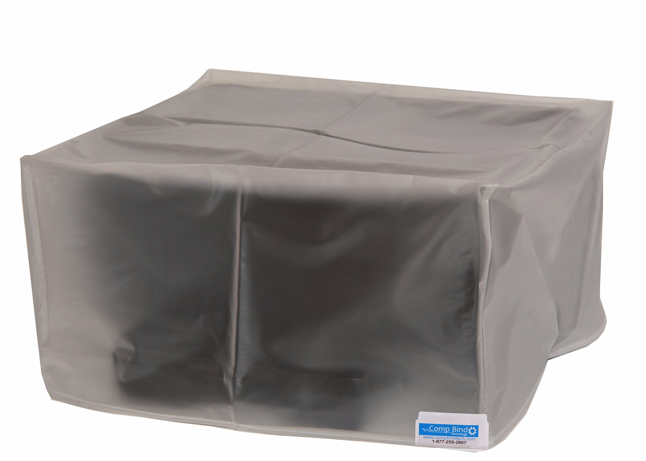 Comp Bind Technology Dust Cover for HP Deskjet 3755 All-in-One Printer, Clear Vinyl Dust Cover Dimensions 15.9''W x 7''D x 5.5''H