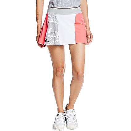 adidas Skort Falda pantalón, Mujer, Rojo (rojdes/oysgre/Blanco), L ...