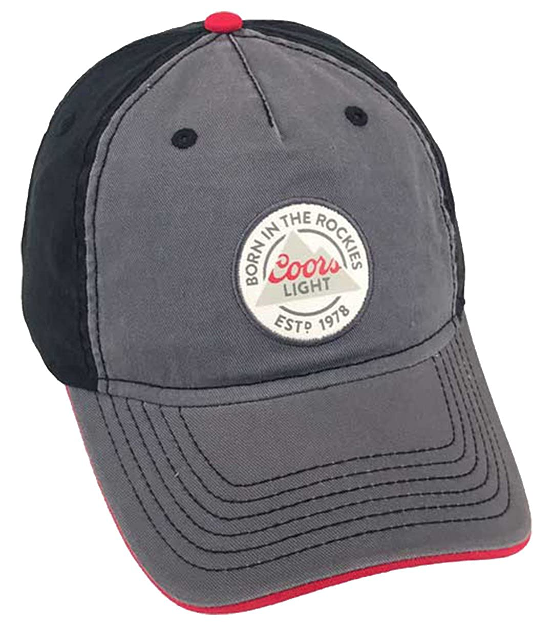 Circle Logo Hat 8 x 7in Coors Light