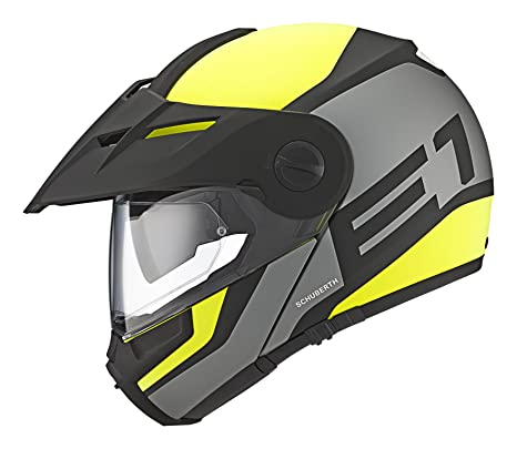 b6b53ee1a4621 SCHUBERTH E1 Guardian Yellow Casco Modulare (XL
