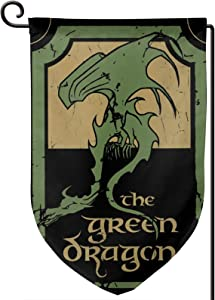 Anselmo Lord of The Rings Outdoor Garden Flag Logo Vertical Double-Sided Printing (12.518in)