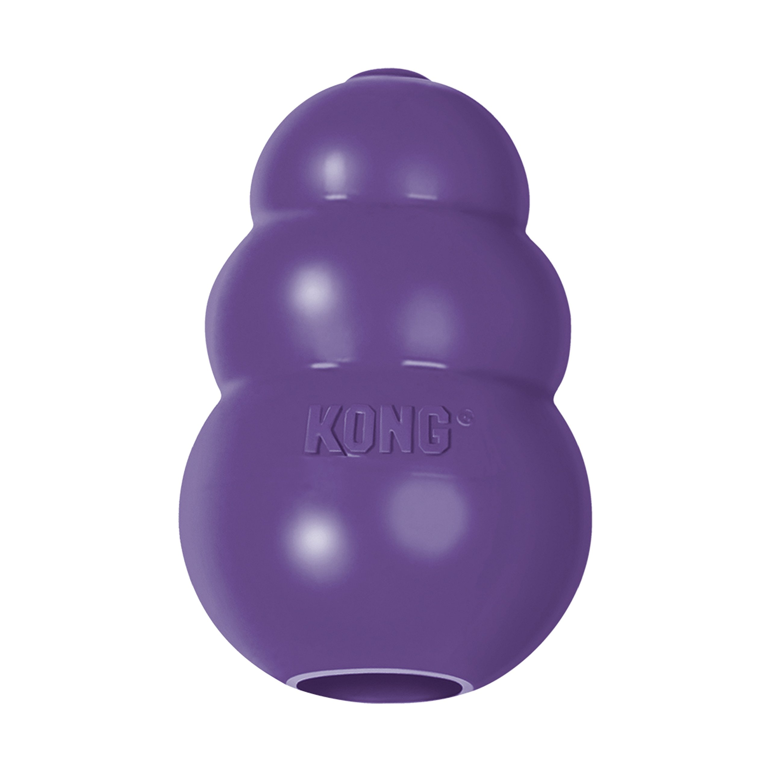 KONG Senior KONG Dog Toy Purple Medium