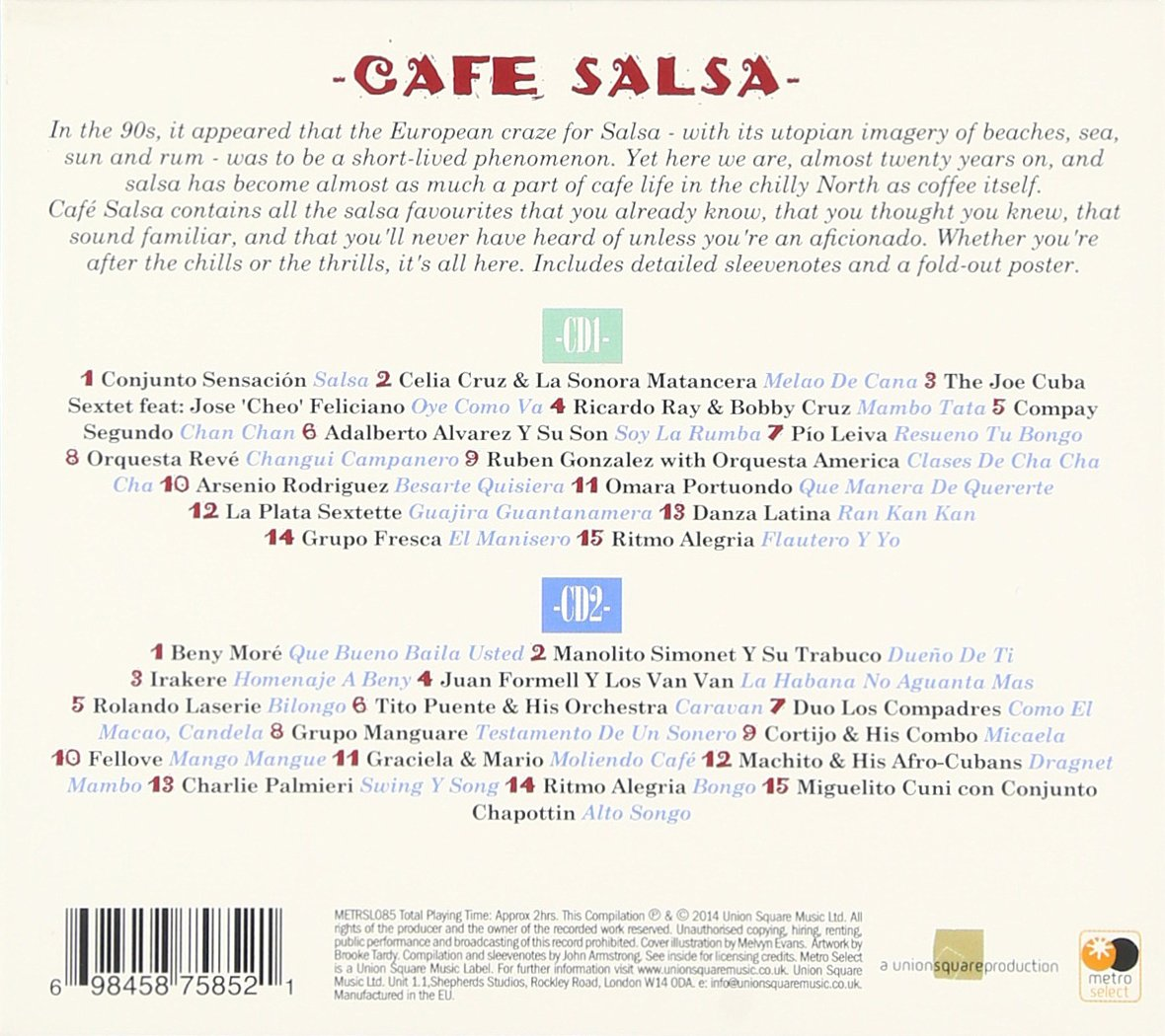 - CAFE SALSA - Amazon.com Music