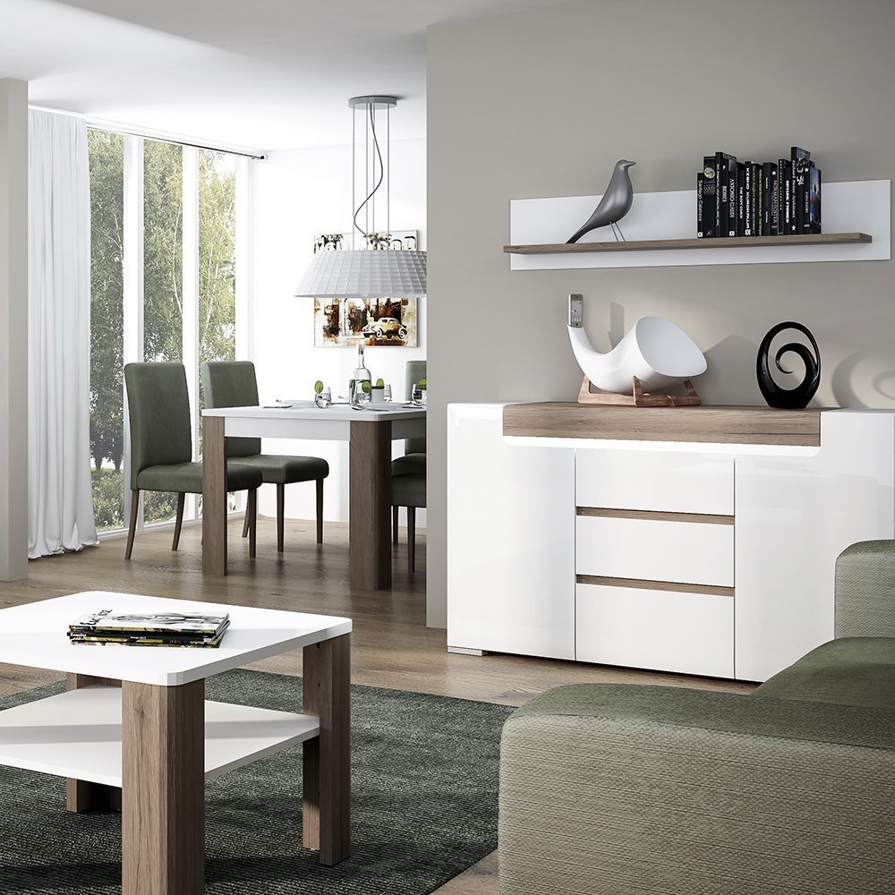 Furniture 2 Go Muebles a Toronto Mesa de Centro con Estante ...