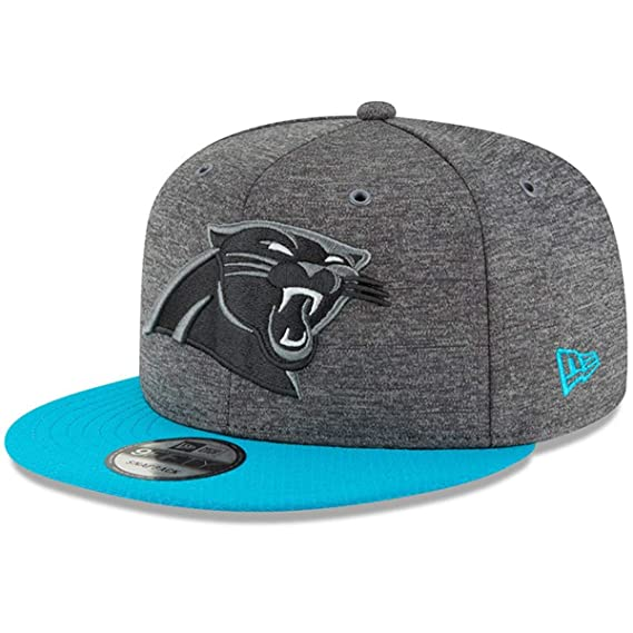 Football New Era Snapback Cap Sideline Away Carolina Panthers