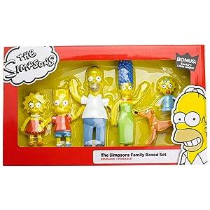 NJ Croce Simpsons Family Boxed Set Action Figure