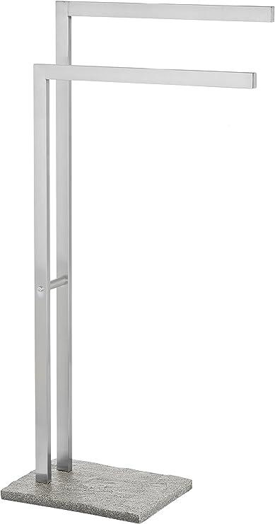 Wenko Toallero, Acero Inoxidable, Plata, 20x43.5x86.5 cm: Amazon.es: Hogar