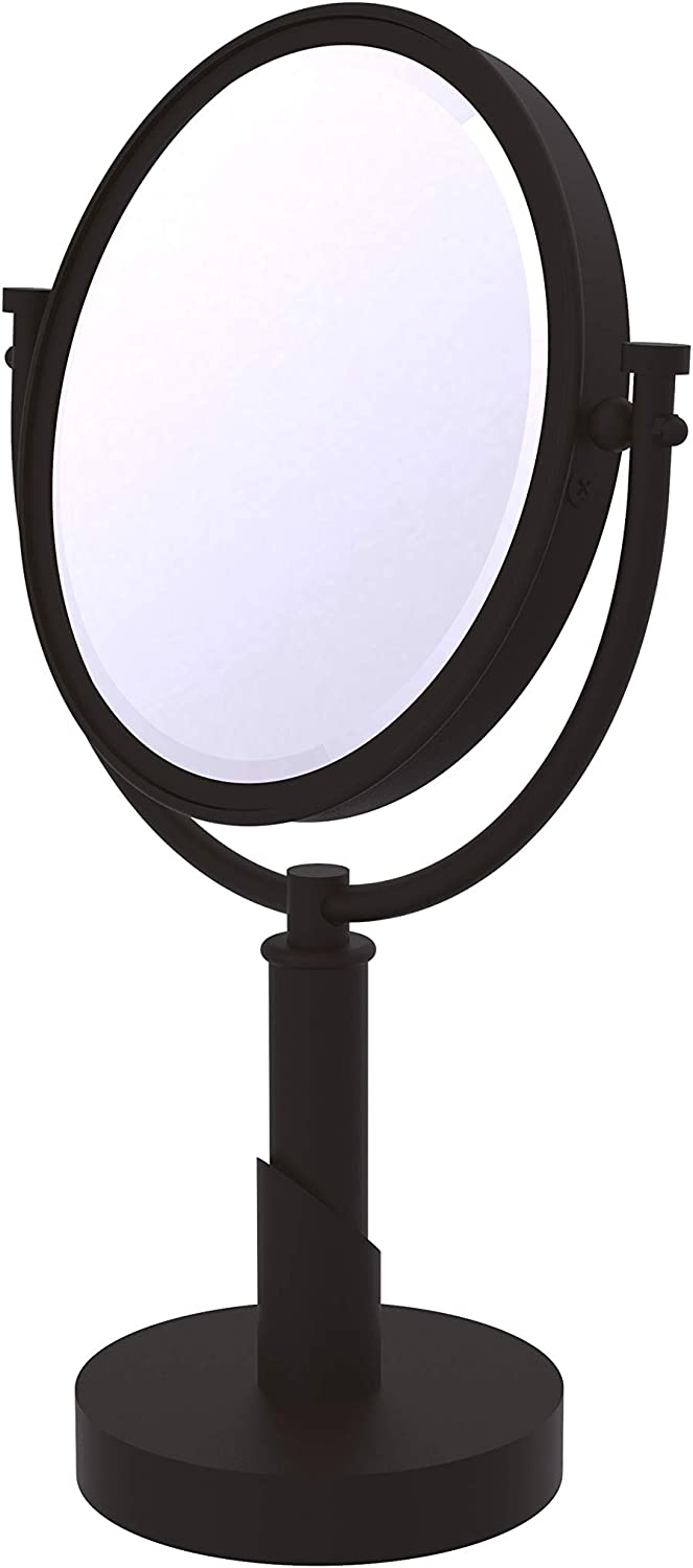 B002CQ5TRO Allied Brass TR-4/2X Tribecca Collection 8 Inch Vanity Top 2X Magnification Make-Up Mirror, Oil Rubbed Bronze 71nf31vQYPL.SL1500_