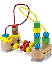 Melissa & Doug First Bead Maze, Developmental Toys, Wooden Educational Toy, Quality Craftsmanship & Sturdy Construction