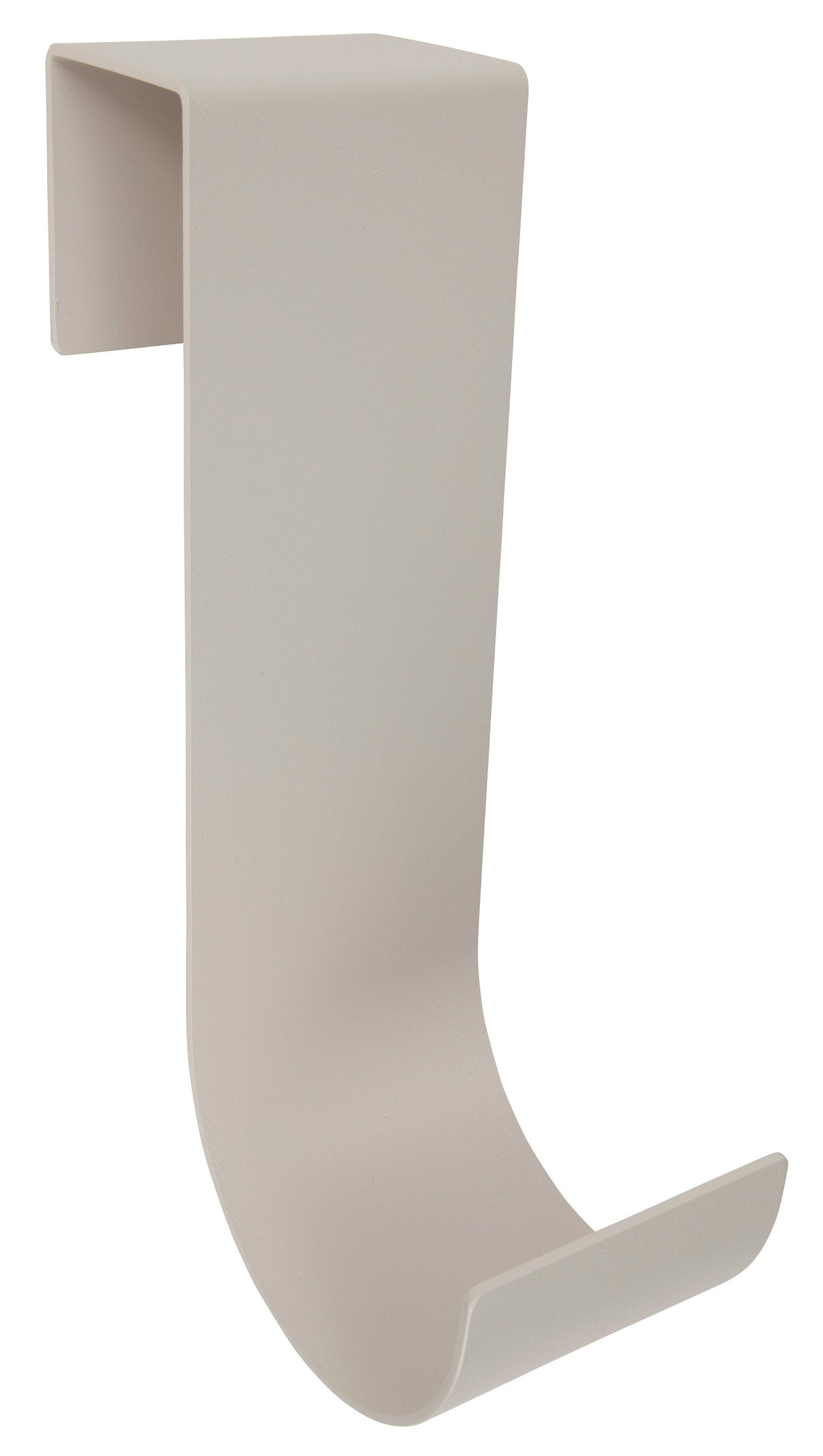MIDE Products 2310T-2 Aluminum Pool Accessory Hooks Pair, Fits 1-3/4-Inch to 2-1/8-Inch Wide Fences, 10-Inch Long, Tan/Beige