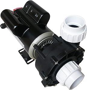 "KL KEY LANDER Hot Tub Spa Pump, 2.5HP, Two Speed, 48Frame LX Motor (230V/60Hz); 2"" Port; OEM# 0974001-03; 48WUA1502C-II"