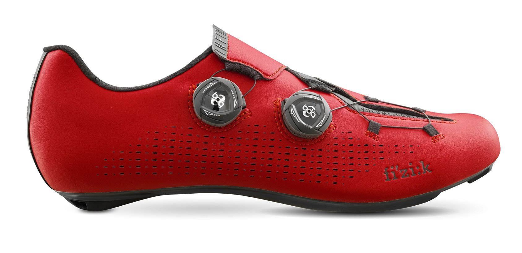 Fizik R1 INFINITO Shoes, Red/Black, Size 37
