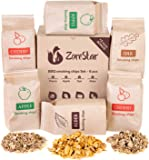 Zorestar Wood Chips for Smokers - 6 pcs Variety Pack of Oak | Alder | Cherry | Apple Chips for Smoking and Grilling…