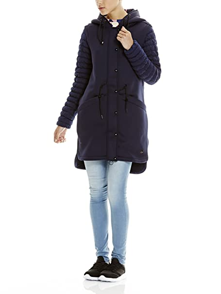 Match N Abbigliamento Bench Mix it Giubbotto Donna Parka Amazon vEvBw