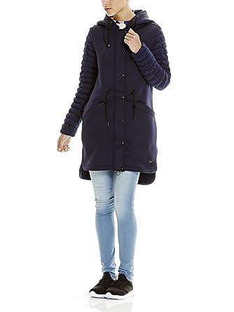 Bench BLKA2080-Abrigo Mujer Azul (Maritime Blue BL193) 38 (Talla del Fabricante