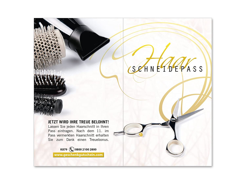 500 Stk. Haarschneidepässe für Friseure, Coiffeure, Haarstudios, Haarstyling K879 B071RDQQF1 | Große Ausverkauf