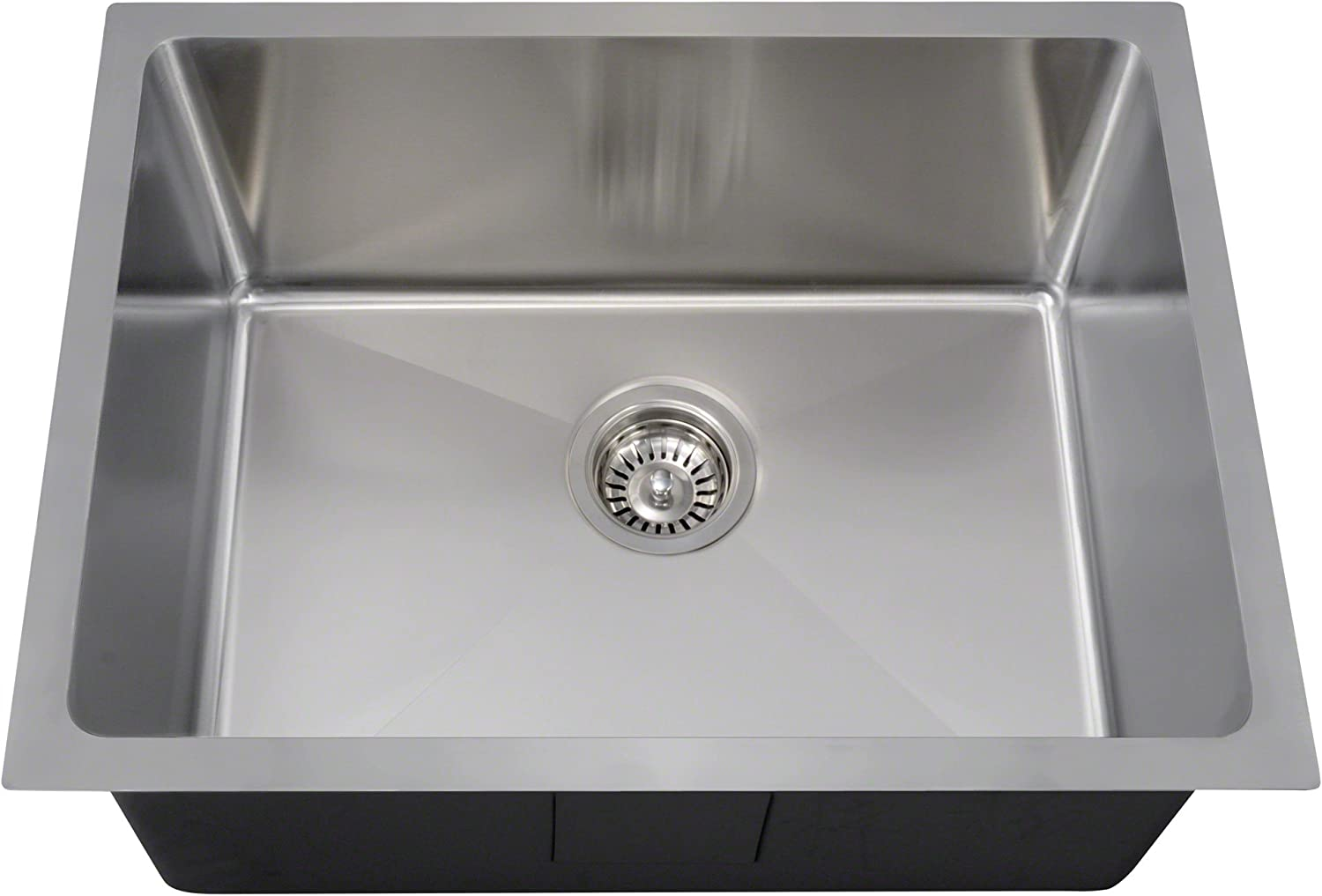 Elkay ELUH281610PDBG Lustertone Classic Single Bowl Undermount Stainless Steel Sink Kit with Perfect Drain
