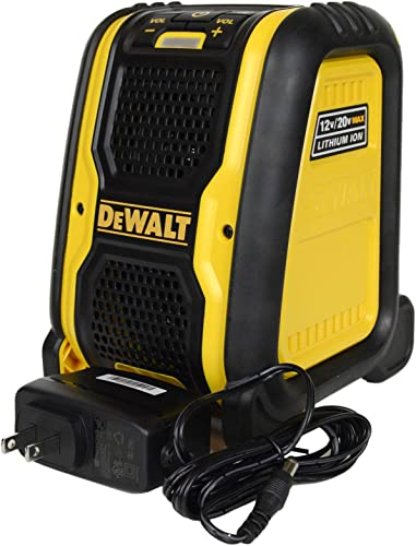 DEWALT DCR006 Jobsite Bluetooth Speaker Renewed