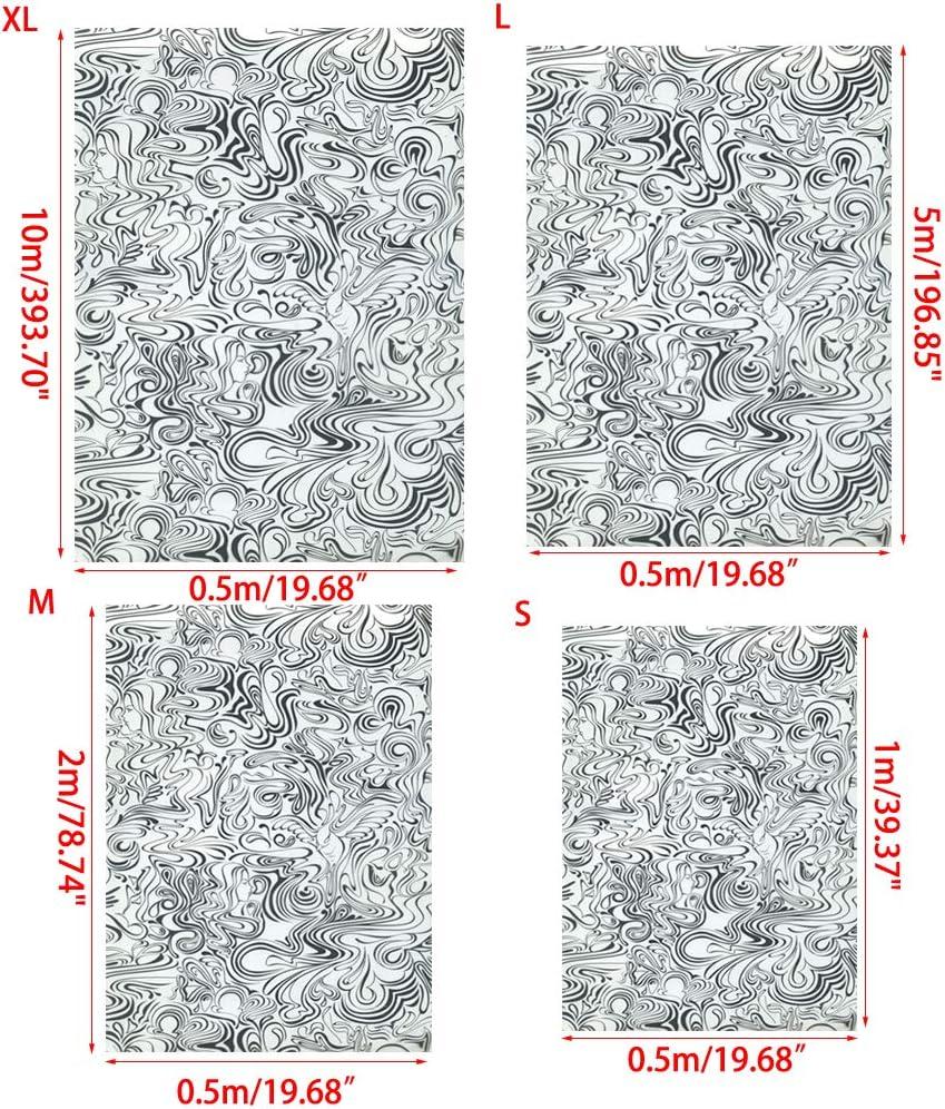 d/écoration d/'int/érieur 50 x 50 cm goneryisour Film hydrographique hydrographique pour Voiture PVA Taille M