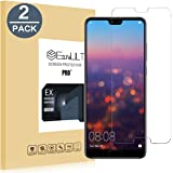 EasyULT [2-Pack] Huawei P20 Pro Pellicola Protettiva, 2 Pack Pellicola Protettiva in Vetro Temperato per Huawei P20 Pro