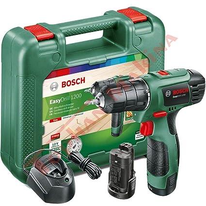 Bosch easydrill 1200/ /Trapano elettrico senza fili 12/V//1.5/A