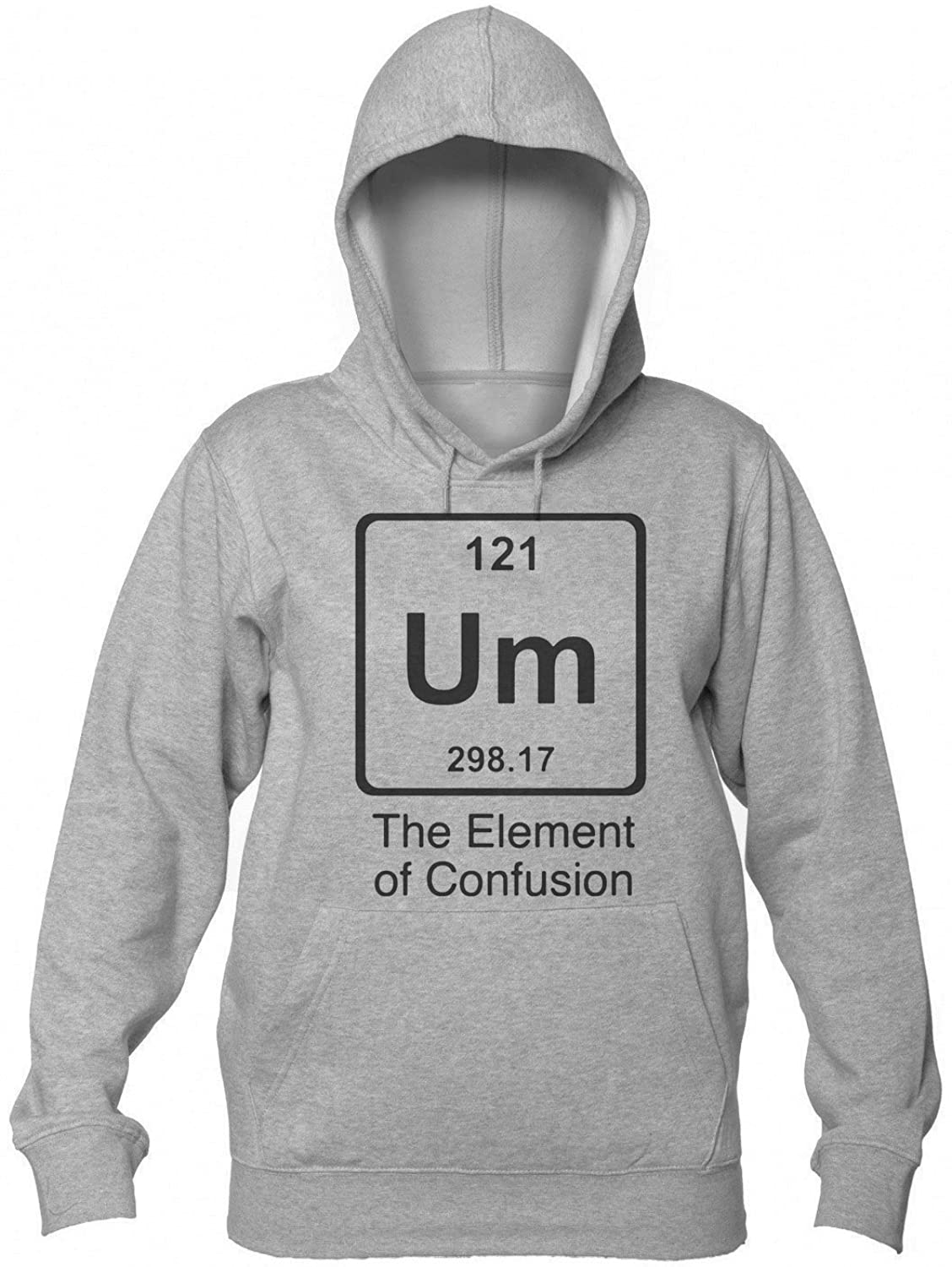 """Um"" The Element Of Confusion Women's Hooded Sweatshirt Extra Large"