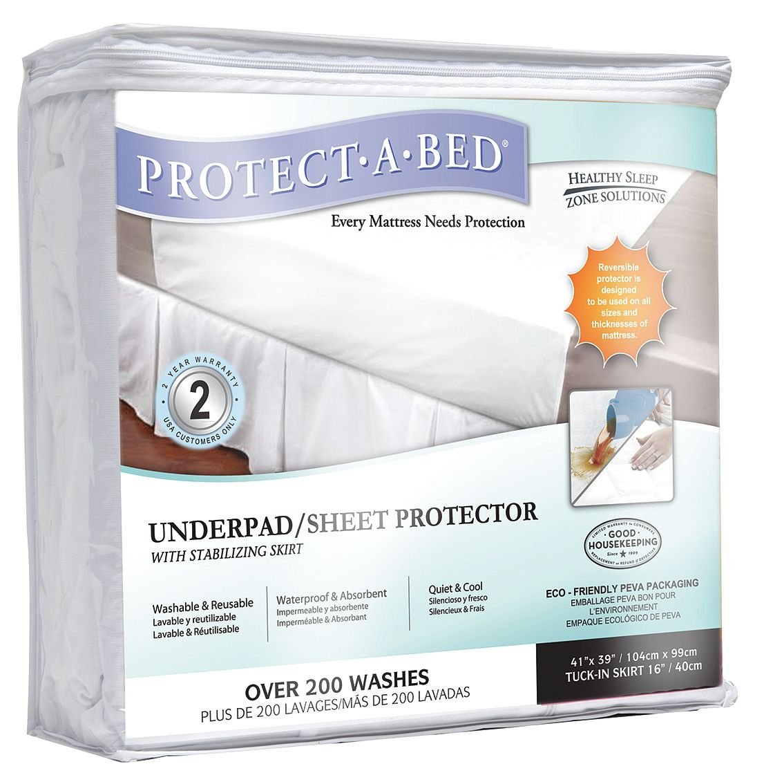 Protect-A-Bed - UP001-DRW - Underpad, Standard, Terry Cloth, PK16