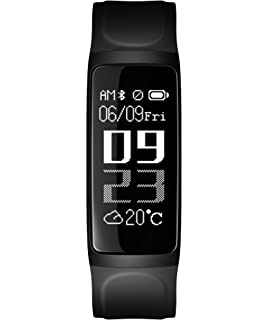 iMCO Smart Bracelet Fitness Tracker Watch, Heart Rate Monitor, Pedometer, Sleep Monitor,