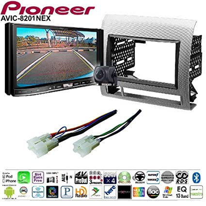 Amazon Com Pioneer Avic 8201nex Double Din Radio Install Kit With