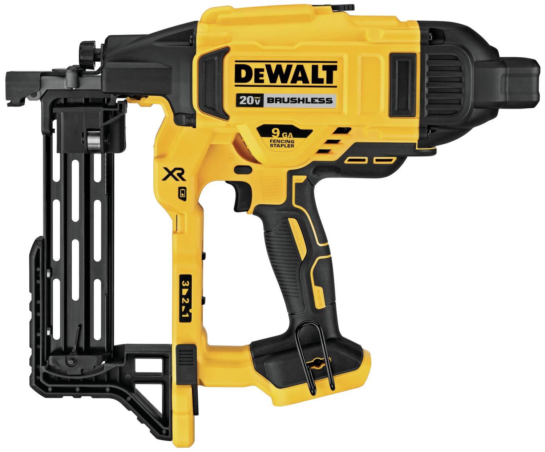 DeWalt DCFS950B 20V MAX XR 9 GA Cordless Fencing Stapler - Bare Tool