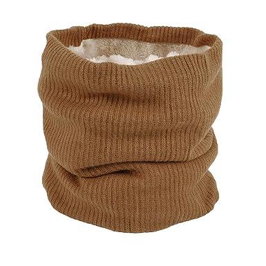 Bluestercool Hommes Femmes Foulards Hiver Unisexe Coton Écharpes Châles  Couleur Unie Écharpe Etoles (Café) c650da23b87