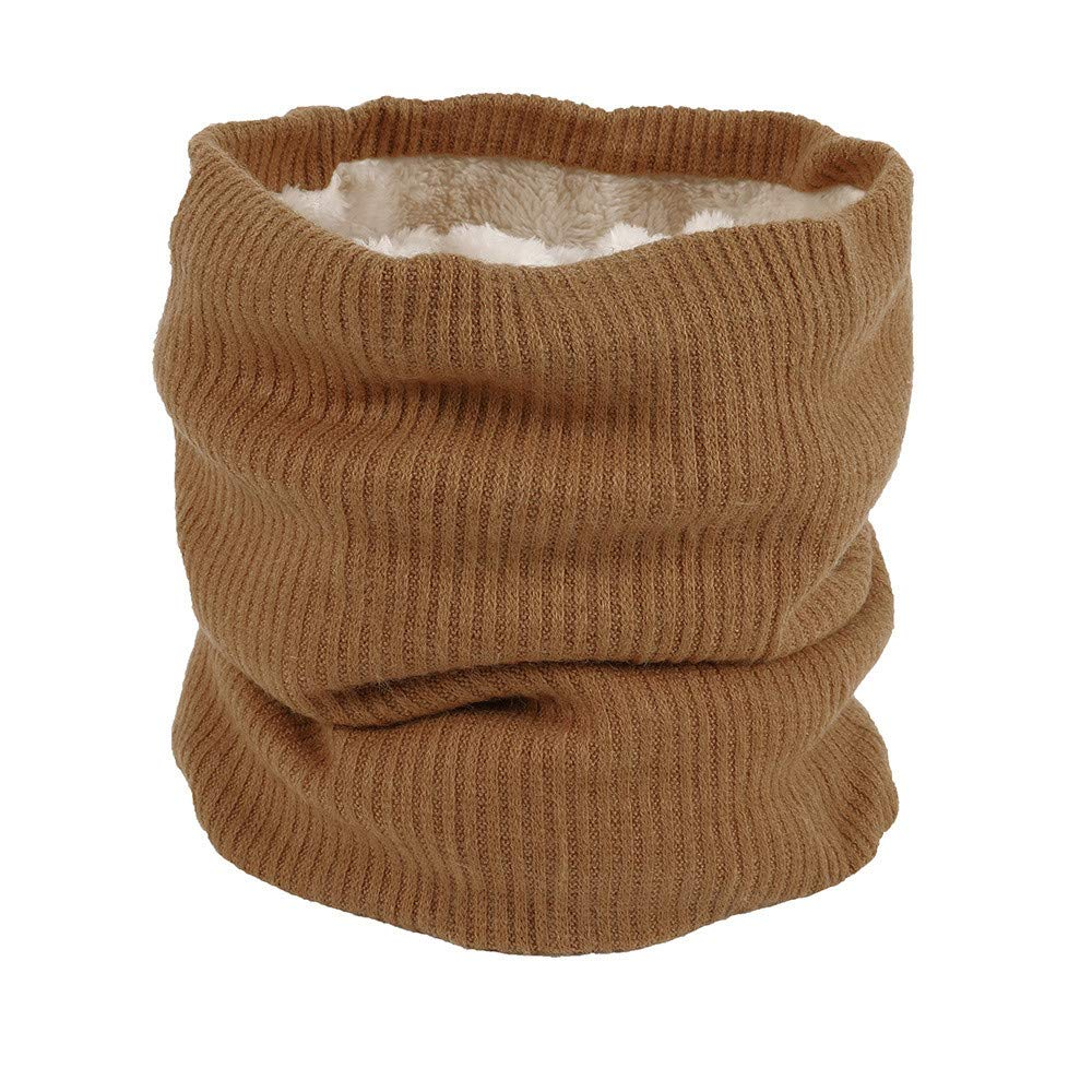 Sinwo Soft Men Women Warm Scarf Winter Cotton Scarves Collar Bandanas (Coffee)