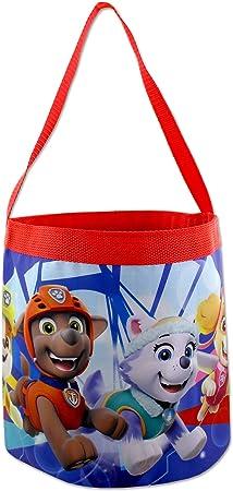 One Size, Blue PJ Masks Boys Girls Collapsible Nylon Beach Bucket Toy Storage Tote Bag
