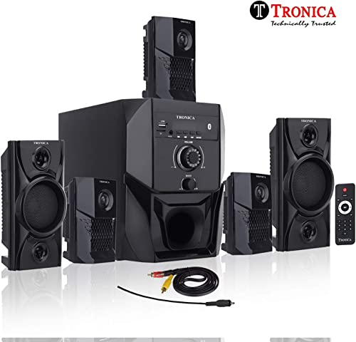 7. Tronica Super King Series 5.1 Bluetooth Multimedia Speakers