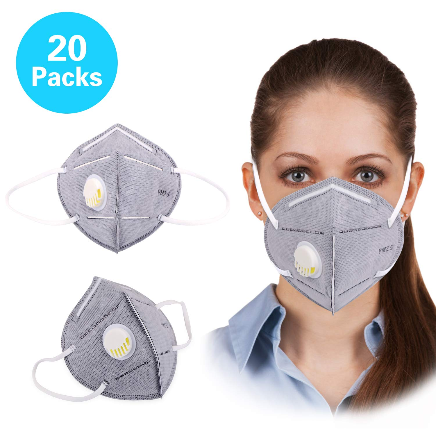 Masks Particulate Anti Dust N95 Pollution Mask Respirator