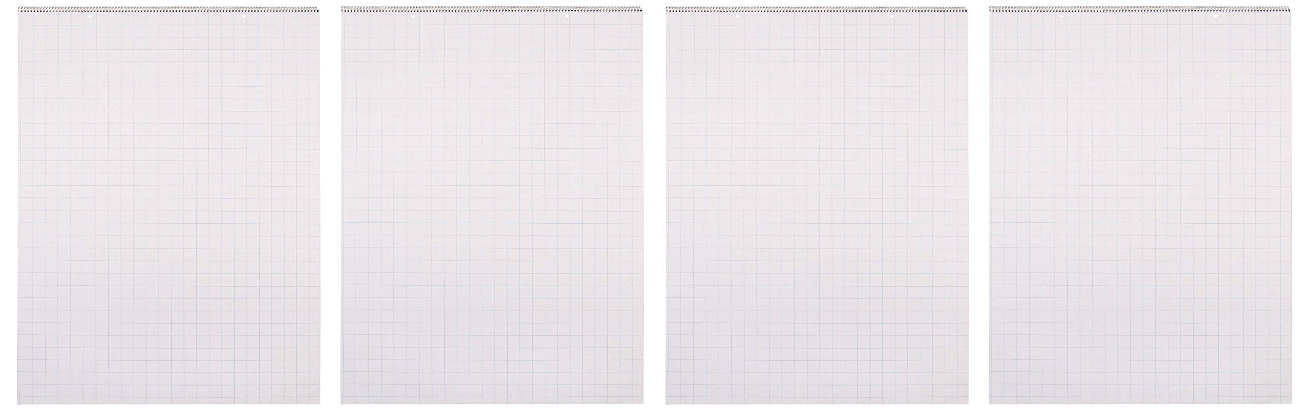 School Smart Chart Paper Pad, 24 x 32 Inches, 1 Inch Grids, 25 Sheets (Fоur Paсk) by School Smart (Image #1)