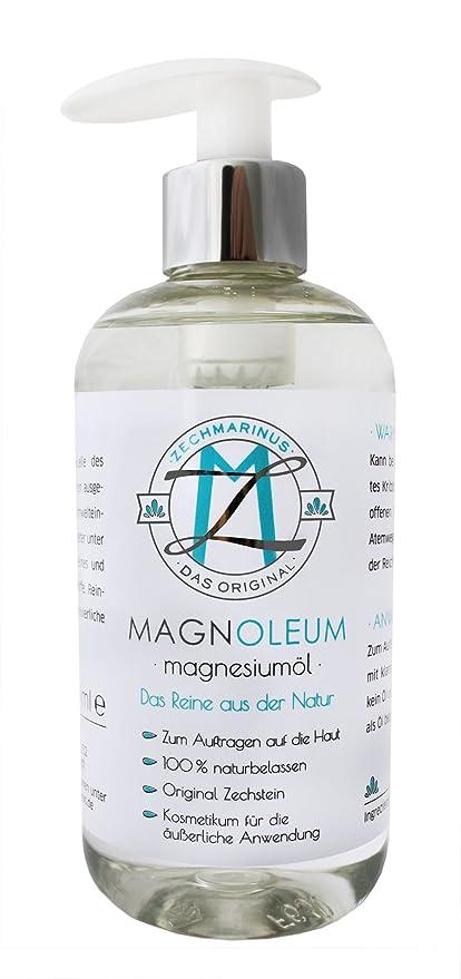 magnesiumöl Pur en dosificadoras – Pet 300 ml ZECH piedra magnesio aceite/ Magnesio Oil –